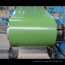 Bobine en acier galvanisé prépainté de qualité supérieure / ppgi en stock Chine fourniture