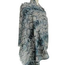 patrones tejidos del chal de la cachemira