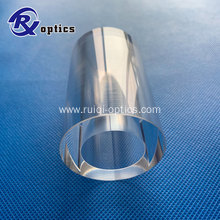 Large Sapphire Tubes and Rod Lens