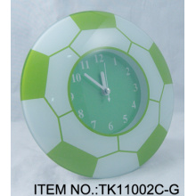 Horloge de Table Football vert