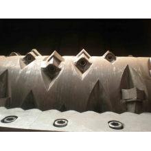 Triturador de eixos duplos de tubos grandes HDPE