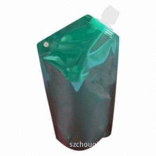 Aluminum Foil Spout Hair Shampoo Pouch, Exported to the US/Europe/Canada/Australia/Russia/Brazil