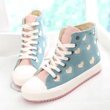 Nuevos zapatos lindos del monopatín Zapatos de los hombres