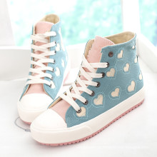 Mais novo bonito skate sapatos homens sapatos