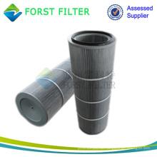 FORST Industrie Polyester Medien Hepa Luftfilter Zylinder Patrone Hersteller