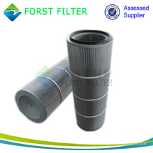 FORST Industrial Polyester Media Hepa Air Filter Cylinder Cartridge Manufacturer
