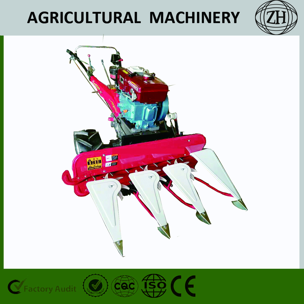 4GK80 / 100 Mini Walking Weizen Reaper Binder Harvester