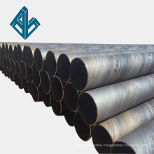 Double-sided submerged arc welding 325*8 steel structure engineering column SSAW spiral steel pipe