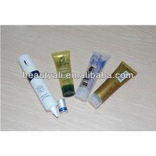 PE tubo cosmético de plástico para ceam mano