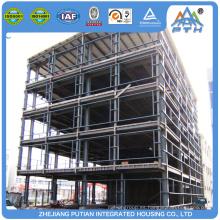Edificios de acero comerciales prefabricados de China por encargo para la venta