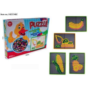 Juguetes coloridos rompecabezas para niños
