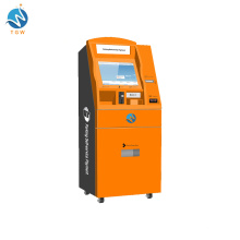 Bar Code Parking System Self-Service Payment Kiosk Terminal