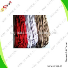 4-6MM hang bag colorful ropes,with plastic buckle