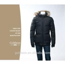 2017 Veste de mode de haute qualité pour hommes d'hiver / manteau en fourrure pour hiver
