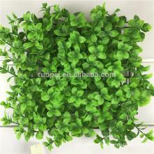 декоративные искусственные зеленые листья листва конфиденциальности для стены