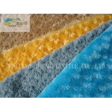 PV плюш ткань для обивки и одежды