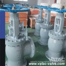Ss304&A351 CF8/Ss316 Flanged Cl150~Cl600 Angle Globe Valve