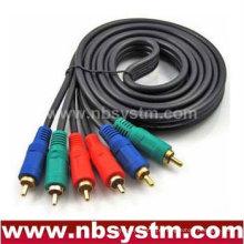 Componente de alta qualidade cabo AV rgb