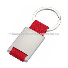 Metal keychain, 4cm diameter, for promotional purposes