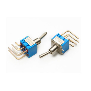 MTS-203-C4 Miniatura Sub-Mini Momentary Toggle Switch