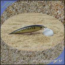 MNL045 10 cm / 7g Hartplastik Köder Fisch Schwarz Minnow