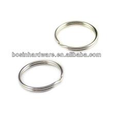 Venda quente e forte alta qualidade DIY Metal Split Key Ring