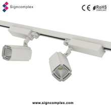 CREE / Bridgelux 2-Wire / 3-Wire / 4-Wire COB 50W LED de alta calidad Track Light