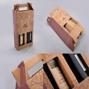 OEM  Cardboard Corrugated Box Packaging for Wine