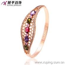 Новый Xuping Fashion 18k Gold Diamond - покрытый браслет