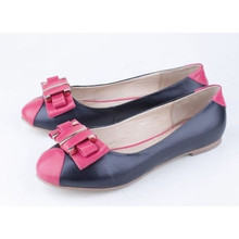 Fashion Women′sflat Shoes with Bow (Hcy02-881)
