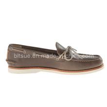 Los zapatos de cuero calientes del barco de la seguridad de la venta