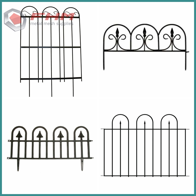 Wrought Iron Fence 03