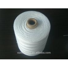 Hilo de coser de poliéster 20S / 2 hilo de cierre de poliéster de alta calidad