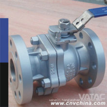 "Wcb/CF8/CF8m 1/4"" Flanged Ball Valve with Lever Operated"