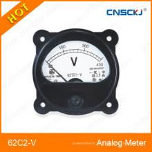 Medidores de tensão do painel analógico da série 62c2-V em alta qualidade