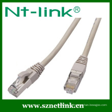 23AWG 8P8C Cable de conexión FTP Cat5E RJ45