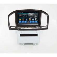 Kaier Fabricant 2 din 8 '' Voiture GPS DVD Radio Système GPS pour Buick Insigina Regal 2009 2010 2011 2012 avec SWC