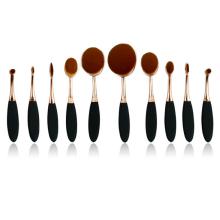 Brosse à maquillage ovale à 10PC (TOOL-85)