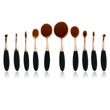 10PC Toothbrush Oval Makeup Brush (TOOL-85)