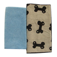 Ультра мягкое полотенце из микрофибры с рисунком домашних животных (MPT-9001)