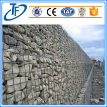 80 * 100mm / 2 * 1 * 1m Galfan Revestido Double Twist Gabions