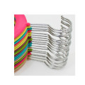 New Arrival Colorful Kids Hanger China Supply Flocked Hanger
