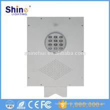 12W Fábrica de China Preço por Atacado Solar Street LED Light