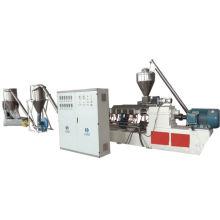 Máquina de peletização composta plástica de madeira do PVC