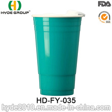 Venta al por mayor Double Wall Promotion Solo Cup with Lid