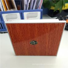 Holzfarbe Perforierte Aluminium Wabenplatten