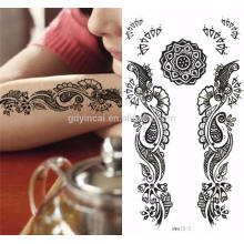 bride tattoo sticker tattoo sticker henna Non-toxic,Temporary Sex And Pretty Henna Stencils Mehndi Body Tattoo Sticker Flash Metallic Temporary Gold Tattoos Henna The latest and high standard costomized temporary flash tattoos for adhorning