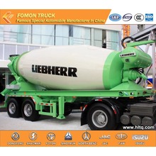 2 axles Concrete mixer semi trailer 8m3
