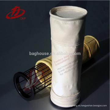 Bolsa de filtro revestida con fibra de aramida de alta calidad