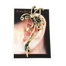 Горячие серьги черепа ювелирные изделия Индивидуальные Vintage ухо клипа уха манжеты EC94